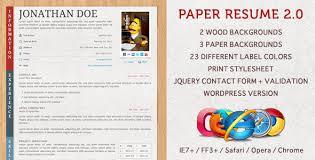 Aaaaeroincus Stunning Best Resume Website Design     My Store    Best vCard WordPress Themes      For Your Online Resume   Colorlib   resume website examples