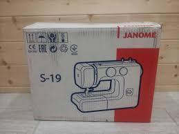 Обзор от покупателя на <b>Швейная машина Janome</b> S-19 ...
