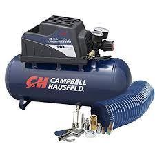 Air Compressor, Portable, 3 Gallon Horizontal, Oilless, w/ <b>10 Piece</b>