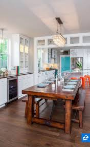 transitional dining chair sch: keep your dining room from feeling stuffy with a large rustic table and matching benches