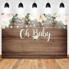 <b>Mehofoto</b> Jungle Safari <b>Baby Shower Backdrop</b> Oh Baby ...