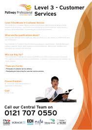 pathway professional level customer services nvq birmingham