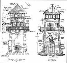 Scottish Tower House Plans  Village Towers  Palbo Mims    VAlineLookout Tower House Plans