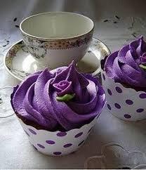 Image result for deep purple frosting