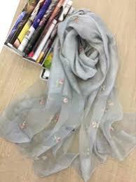 2017 fashion 180x90cm embroidery woman folk custom man female cotton linen retro nation shawl plaid scarves