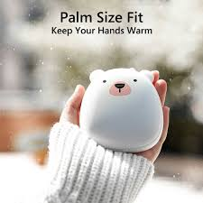 Winter <b>Cute</b> Cartoon <b>USB</b> Rechargeable Hand Warmer Heater ...