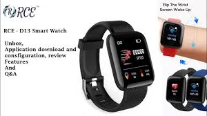 D13 - <b>Smart watch</b>: unbox, mobile application setup and feature ...