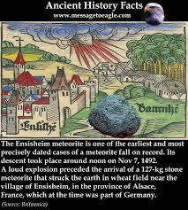 「Ensisheim meteorite」の画像検索結果