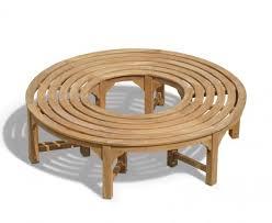 Saturn Teak <b>Circular Tree Bench</b> - <b>160cm</b>