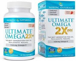 Nordic Naturals <b>Ultimate Omega 2X</b> Natural <b>Strawberry</b> Flavor ...