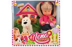 <b>Dimian Кукла Nena</b> с собачкой 36 см - Акушерство.Ru
