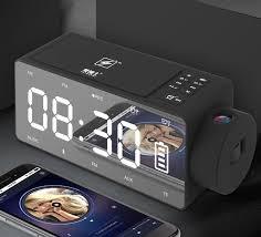 <b>EARDECO</b> Wireless Charging Alarm Clock <b>Bluetooth</b> Speaker ...