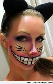 diy thats awesome cheshire cat makeup follow our diy makeup instructions for this cheshire awesome diy makeup
