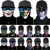 <b>Seamless Multifunctional Magic</b> Scarf Skull Face Mask Outdoor ...