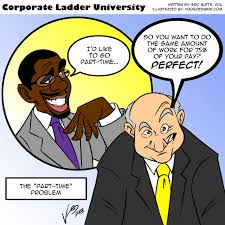 corporate ladder university archives never less than success no such thing as part time consulting or any other client service