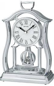 <b>CRP611WR19 Rhythm</b> японские кварцевые <b>настольные часы</b> ...