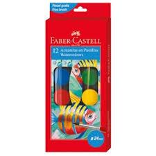 «<b>Акварель Faber</b>-<b>Castell 12</b> цветов» — Детские товары — купить ...