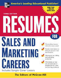 Resumes for Sales and Marketing Careers Third edition