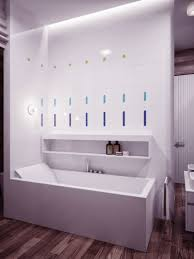 awesome contemporary bathroom lighting placement