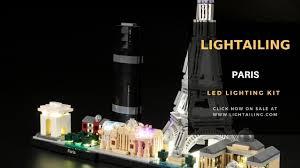 <b>LIGHTAILING LED Light</b> kit for LEGO Architecture 21029 ...