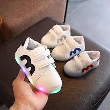 LED Lighted <b>Children</b> Casual Shoes <b>Spring</b>/Autumn Cool <b>Kids</b> ...