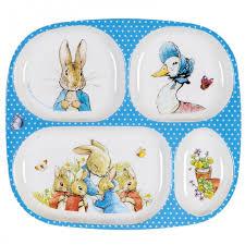 <b>Тарелка</b> с секциями Peter Rabbit <b>Petit Jour</b> — купить в Москве в ...