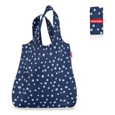 <b>Сумка складная</b> REISENTHEL <b>Mini</b> Maxi Shopper Spots Navy ...