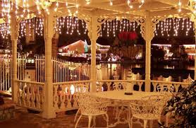 outdoor cafe lighting strings cafe lighting design
