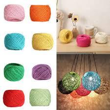 2MM*25M DIY Hand-woven <b>Vintage Hemp Rope</b> Banner Tags Gift ...