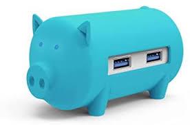 <b>ORICO 3 Port</b> USB 3.0 Hub with Compact TF/SD Flash Memory ...