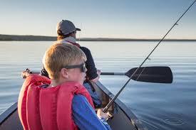 <b>Spin fishing</b> (U.S. National Park Service)