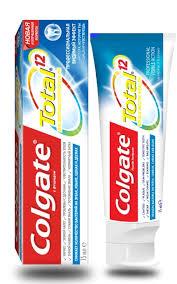 Комплексная антибактериальная <b>зубная паста Colgate Total</b> 12 ...