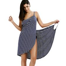 Wipalo Women <b>Summer Striped</b> Dress <b>2019 Sexy</b> Spaghetti Strap ...