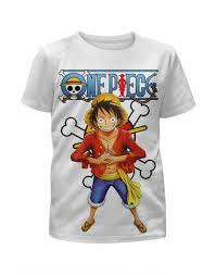 Футболка с полной запечаткой для мальчиков <b>One Piece</b> ...