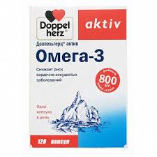 <b>Доппельгерц актив омега</b>-<b>3</b> капсулы <b>120</b> шт. купить по выгодным ...