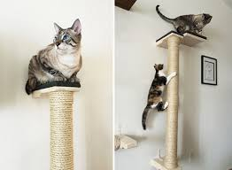 another beautiful cardboard scratcher from the folks at catissa cat trees also looks like a piece of modern sculpture the rounded surface is very chic cat furniture