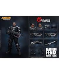 Gears Of War <b>5</b>: Marcus Fenix <b>16cm</b> Action Figure - Merchoid