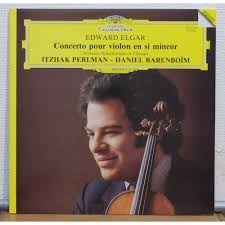 edward elgar concerto for violin and orch by itzhak perlman lp itzhak perlman edward elgar concerto for violin and orch