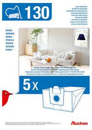 Купить <b>Мешки для пылесоса</b> АШАН 130, 5 шт по цене 240.99 руб ...