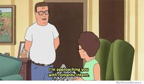I'm Approaching You With Romantic Intent | WeKnowMemes via Relatably.com