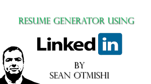 how to create a quick resume using linkedin how to create a quick resume using linkedin