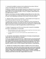 egee essays midterm evaluate rockefeller s personal and this preview has intentionally blurred sections sign up to view the full version