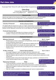 careers recruitment part time jobs example cv for part time work pag 6 months ago uopenterprise