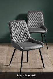 Leather <b>Dining Chairs</b> | Leather Set of 2 <b>Dining Chairs</b> | Next