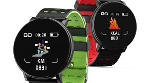 <b>Gocomma 119Plus</b> smartwatch for less than 8 $ with multiple sensors