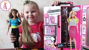 <b>Шкаф</b> для кукол барби розовая мебель <b>Barbie</b> Fashionistas ...