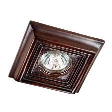 Встраиваемый <b>светильник Novotech 370091</b>, коричневый