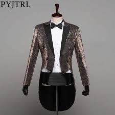 PYJTRL Mens Fashion Champagne Gold Silver <b>Red Blue</b> Black ...