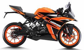 <b>KTM RC 125</b> ABS Price, Specs, Mileage, Top Speed