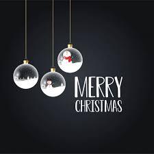 <b>Merry christmas</b> card with <b>creative design</b> Free Vector   vector   Best ...